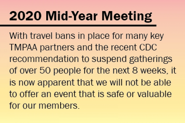 2020 Mid-Year Meeting Canceled